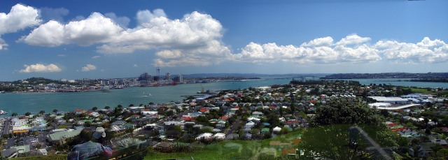 Auckland Harbour Panorama