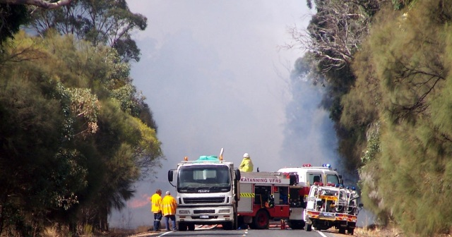 Fire in Katanning