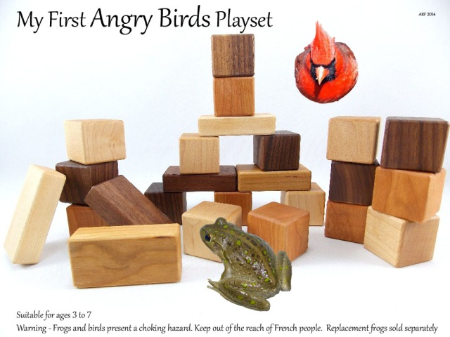 My First Angry Bird Playset